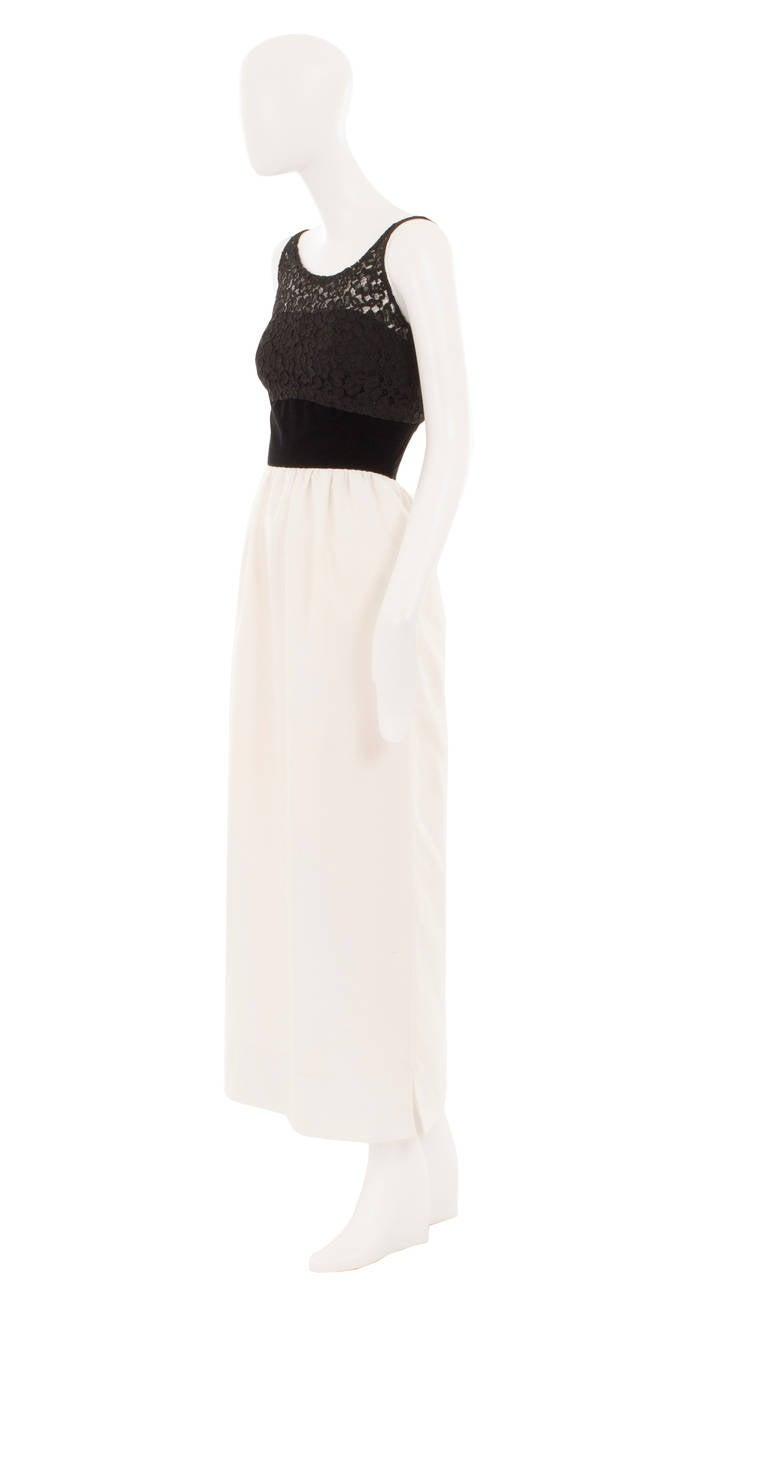 Jacques Heim Monochrome Dress, Circa 1960 2