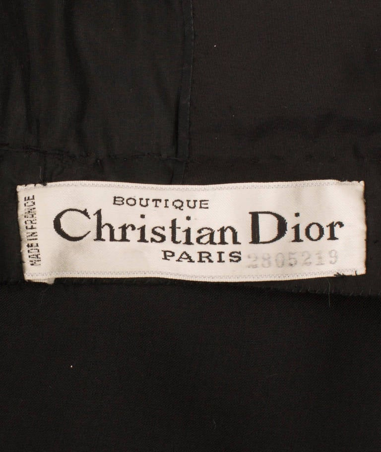 A Christian Dior dress, circa 1958 5