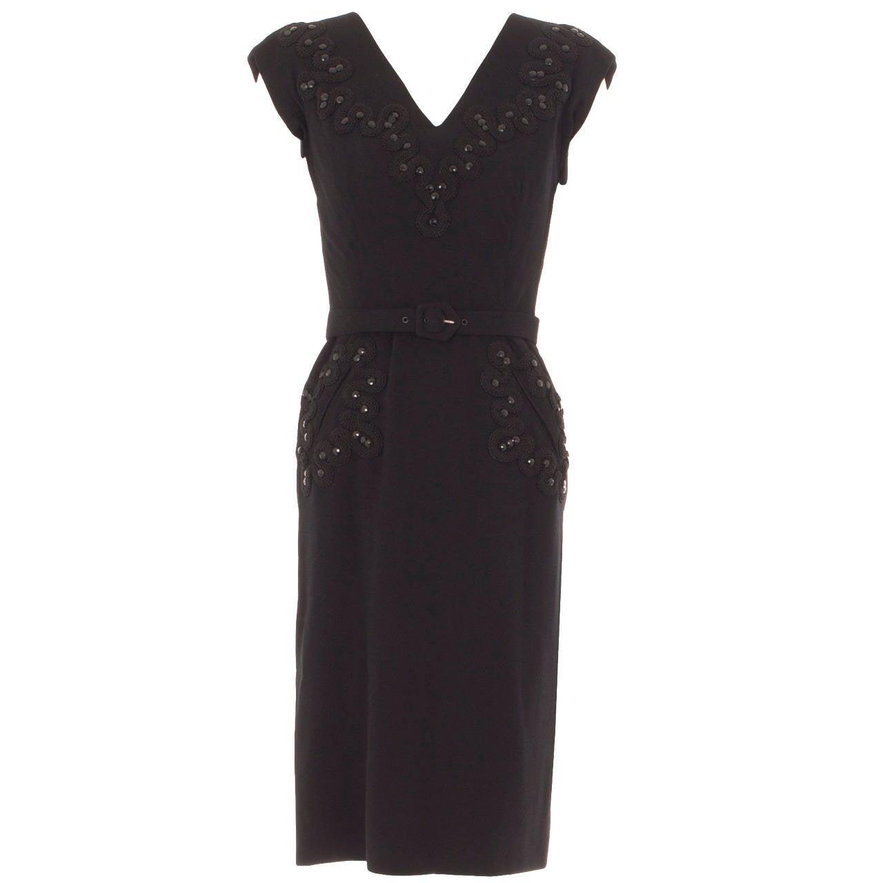 A balenciaga haute couture dress circa 1940 for sale at for Haute couture sale
