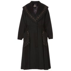 Lemkins black coat, circa 1958