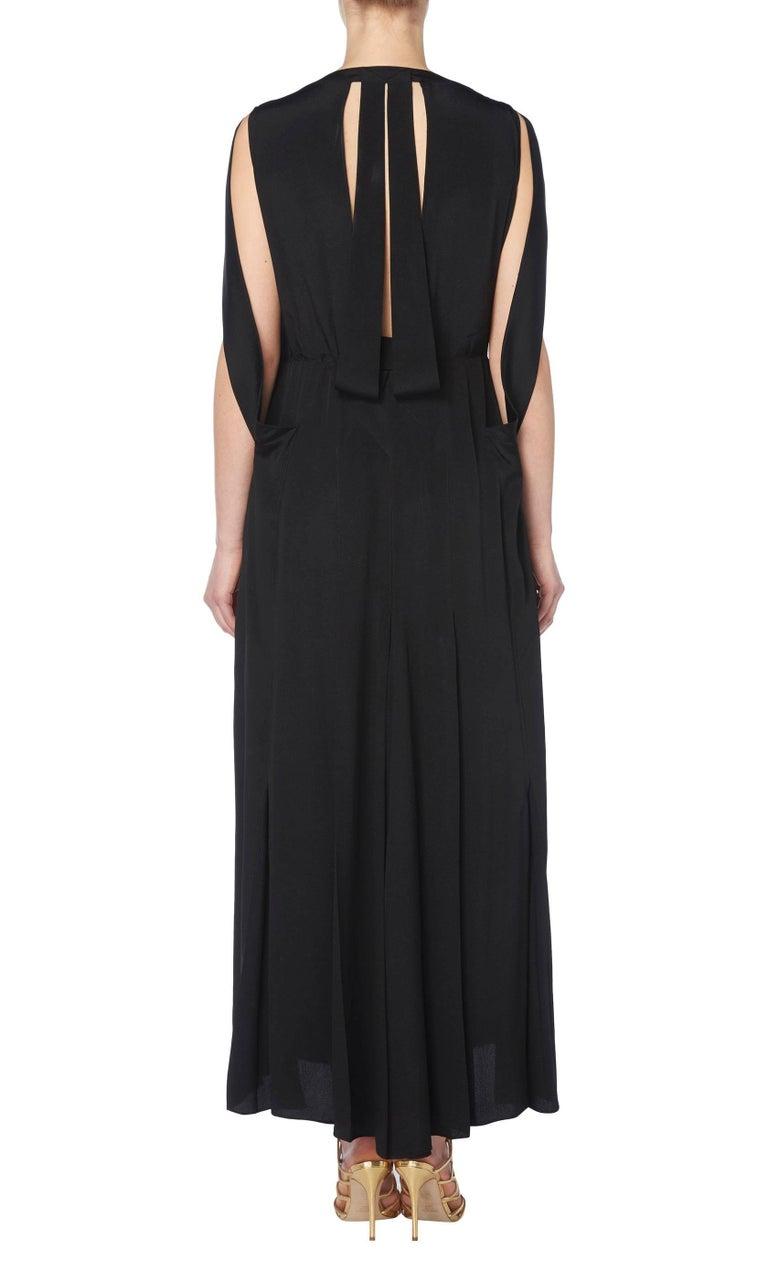 Black Jean Patou haute couture black dress, Autumn/Winter 1932 For Sale
