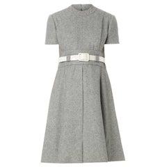 Geoffrey Beene grey dress, circa 1965