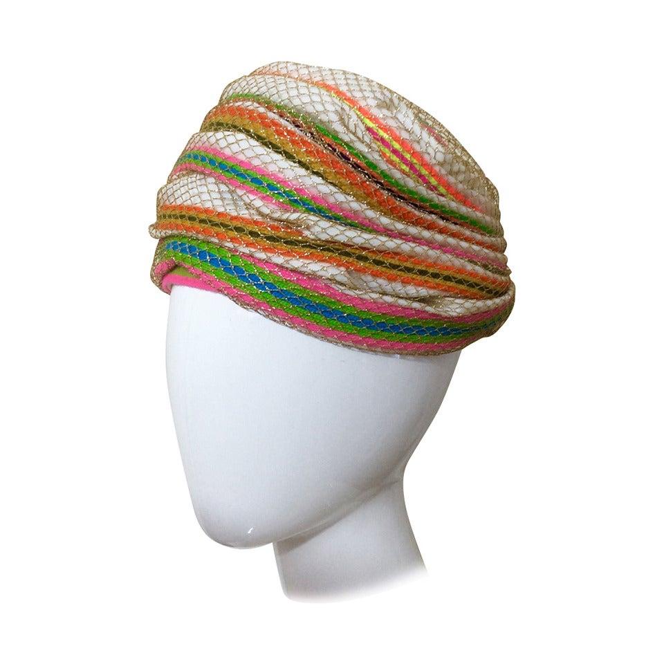 Christian Dior turban