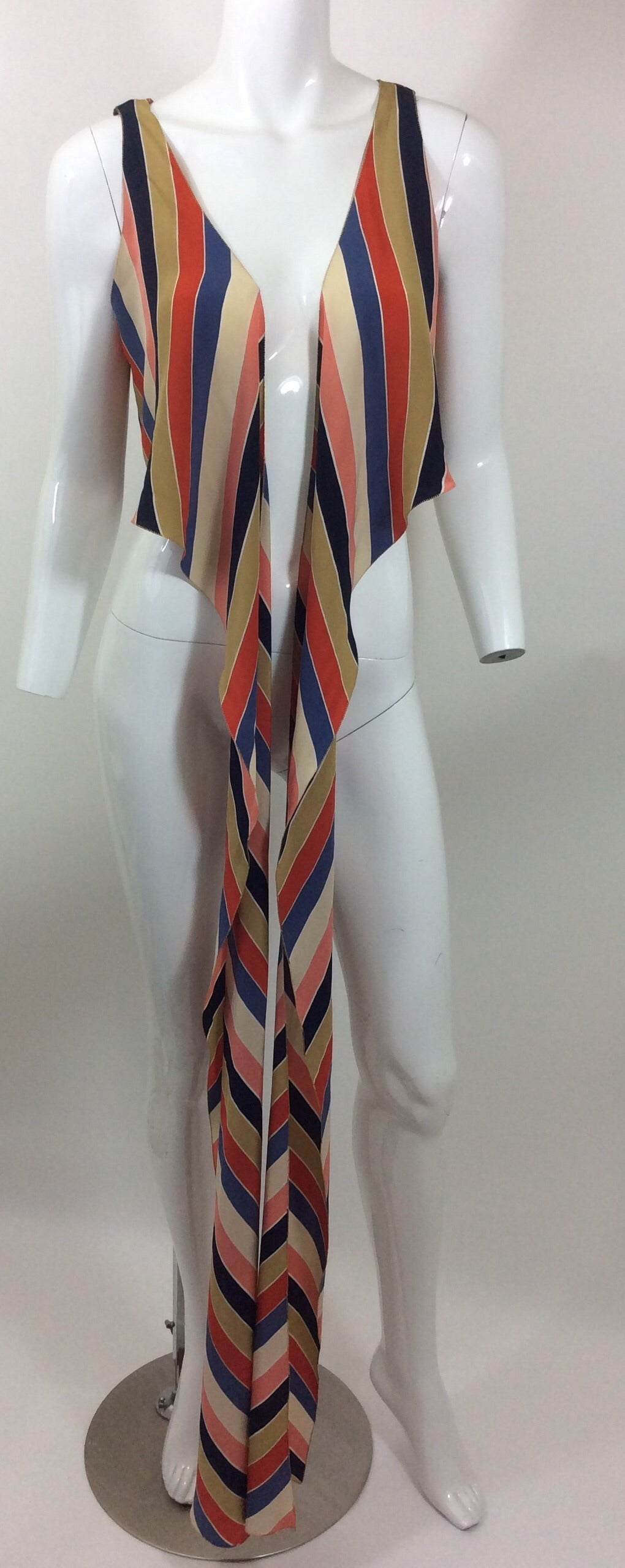 Vintage Chloe Silk Wrap Top 2