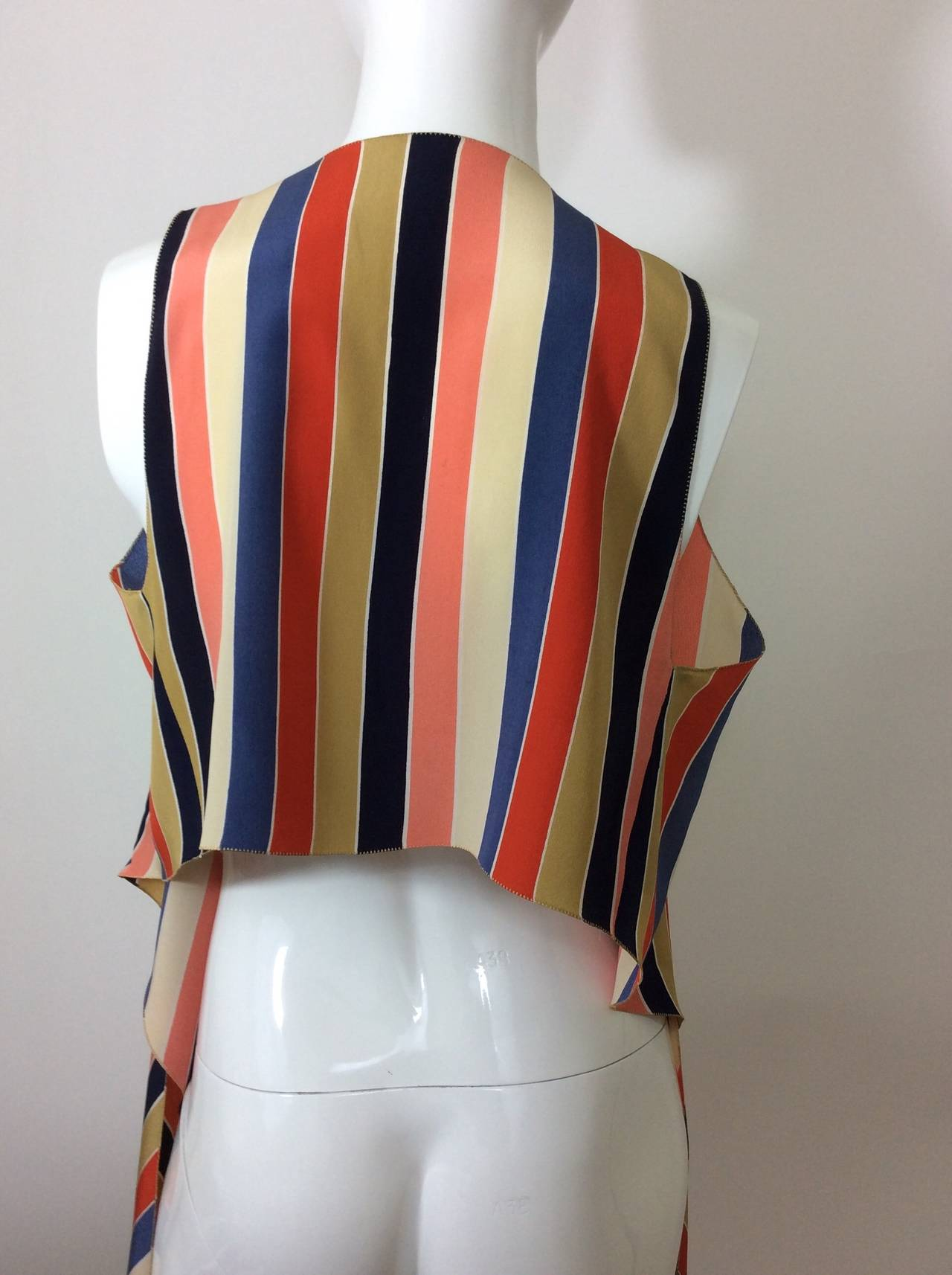 Vintage Chloe Silk Wrap Top 6