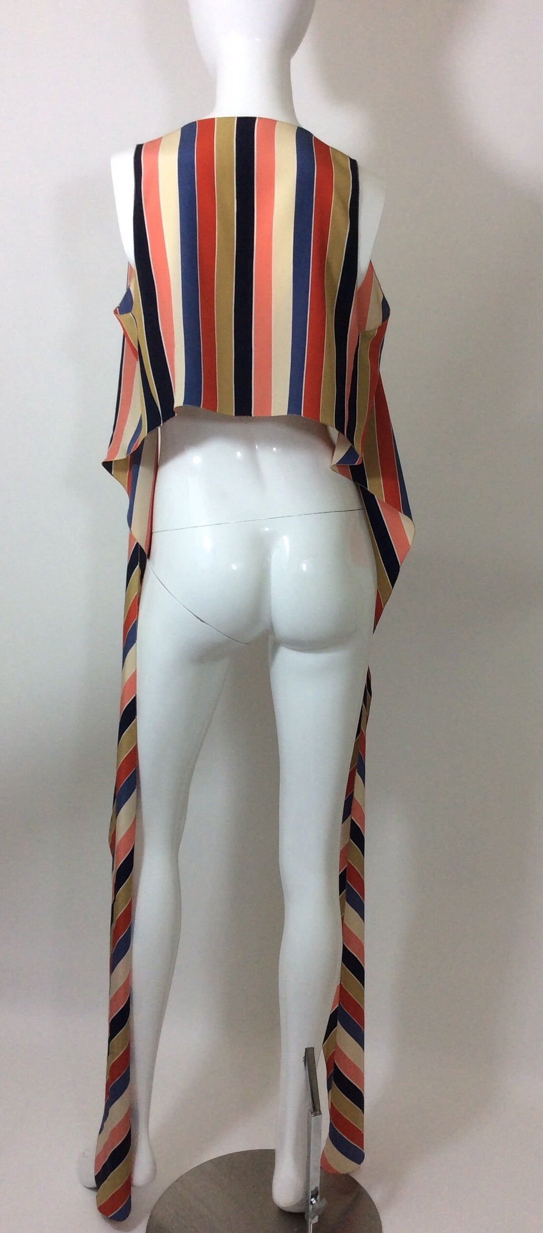 Vintage Chloe Silk Wrap Top 8