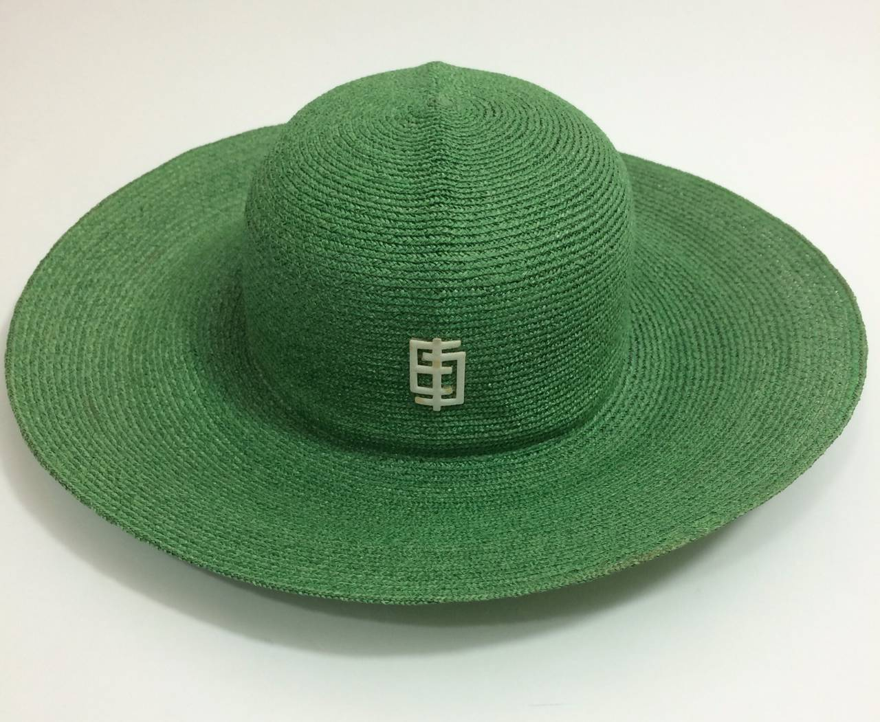 Vintage Pucci Green Sun Hat 2
