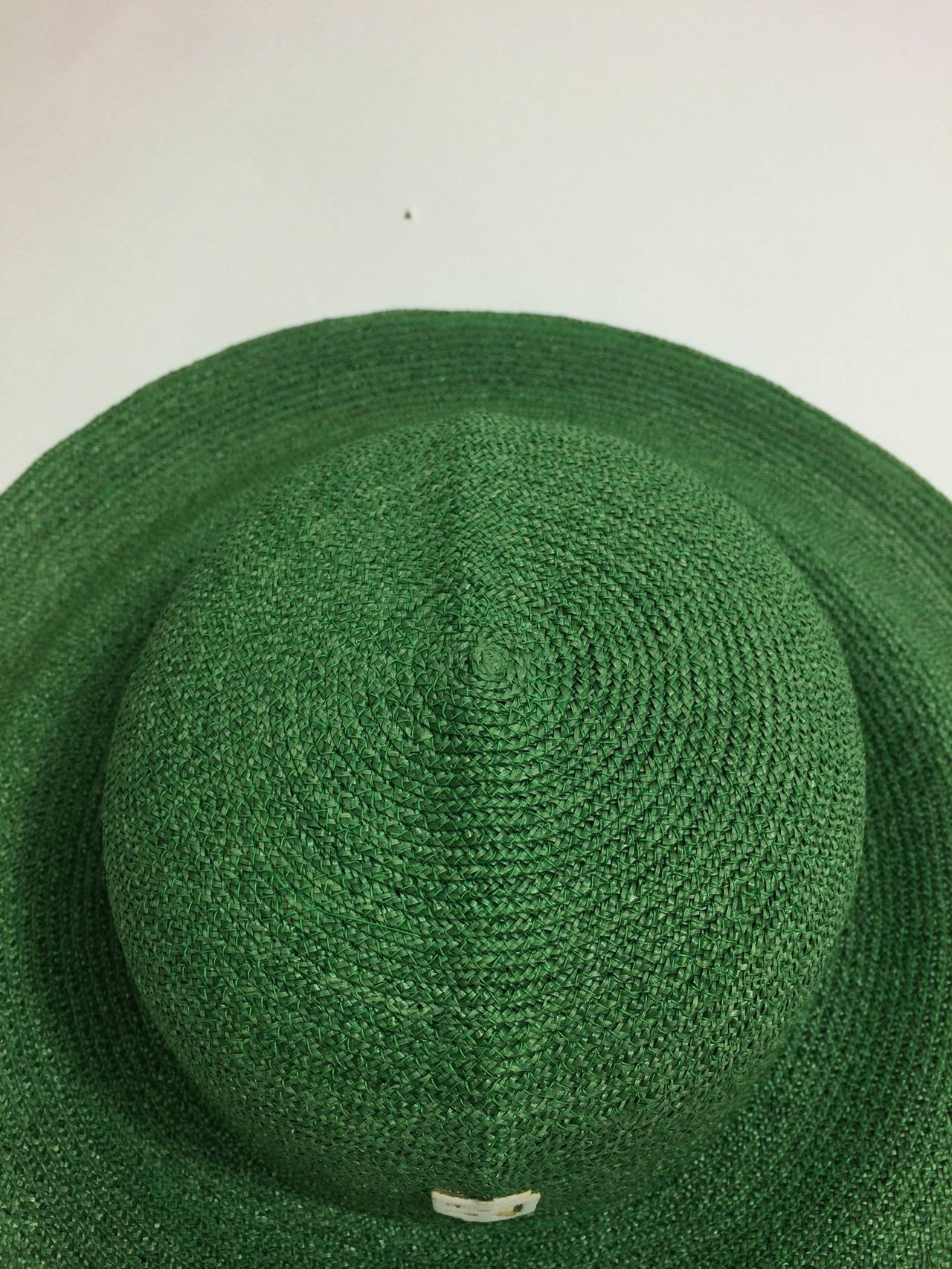 Vintage Pucci Green Sun Hat 3