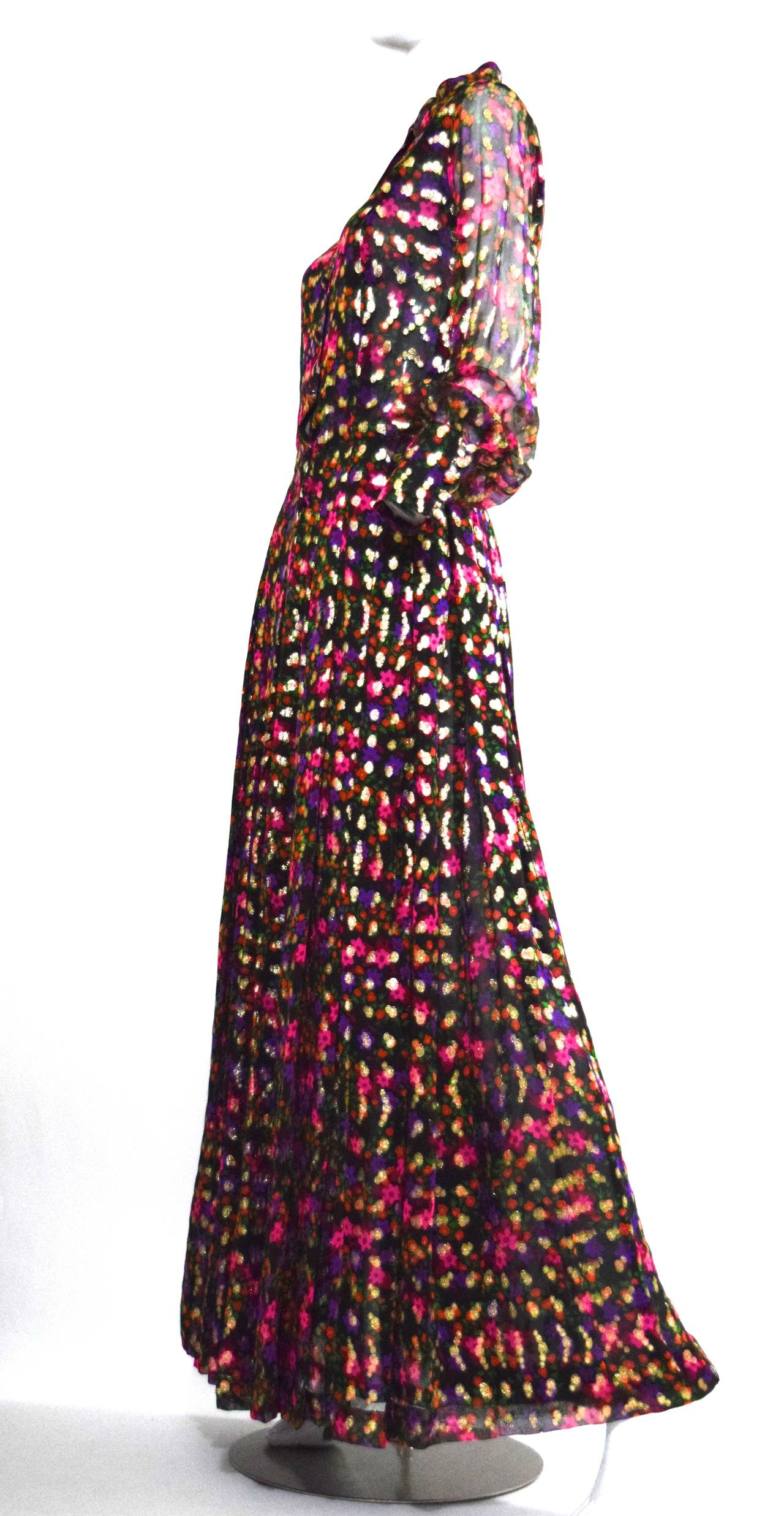 Stunning 1970s chanel haute couture gown no 45509 at 1stdibs for Chanel haute couture price range