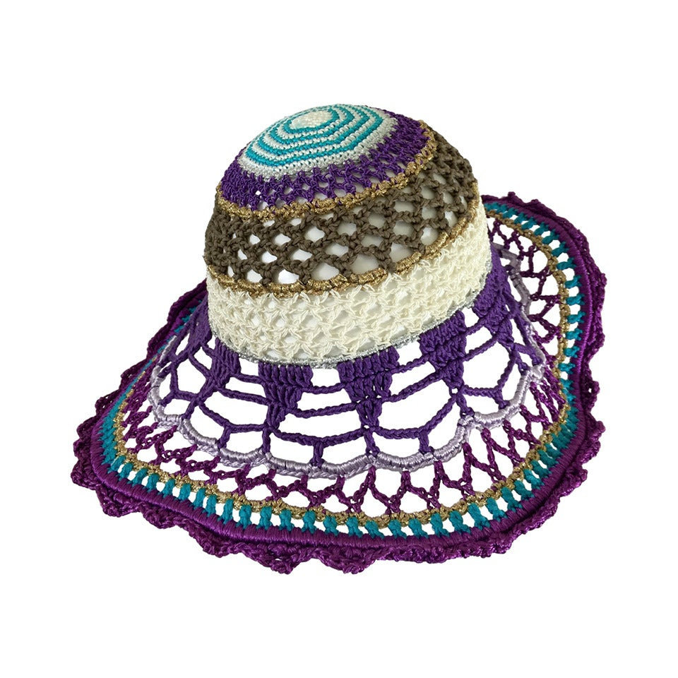 Gorgeous Missoni Crochet Hat 1