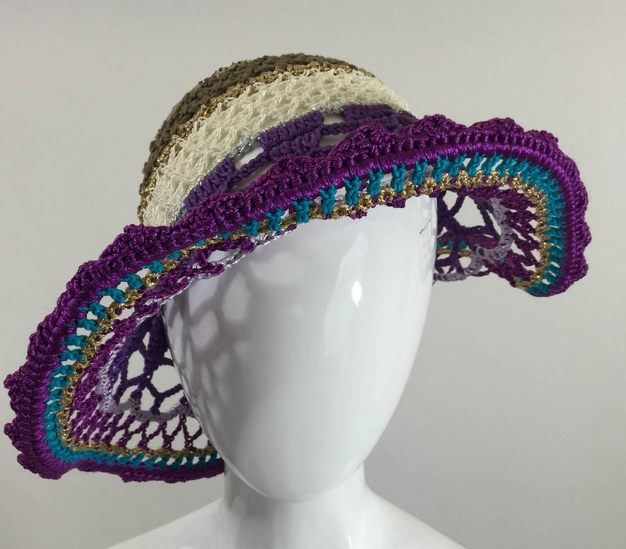 Gorgeous Missoni Crochet Hat 4
