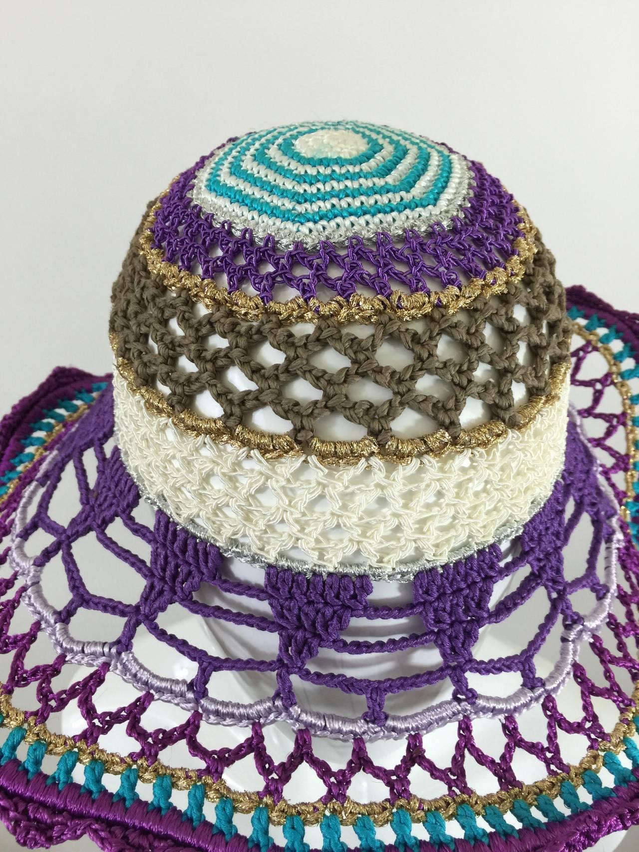 Gorgeous Missoni Crochet Hat 7