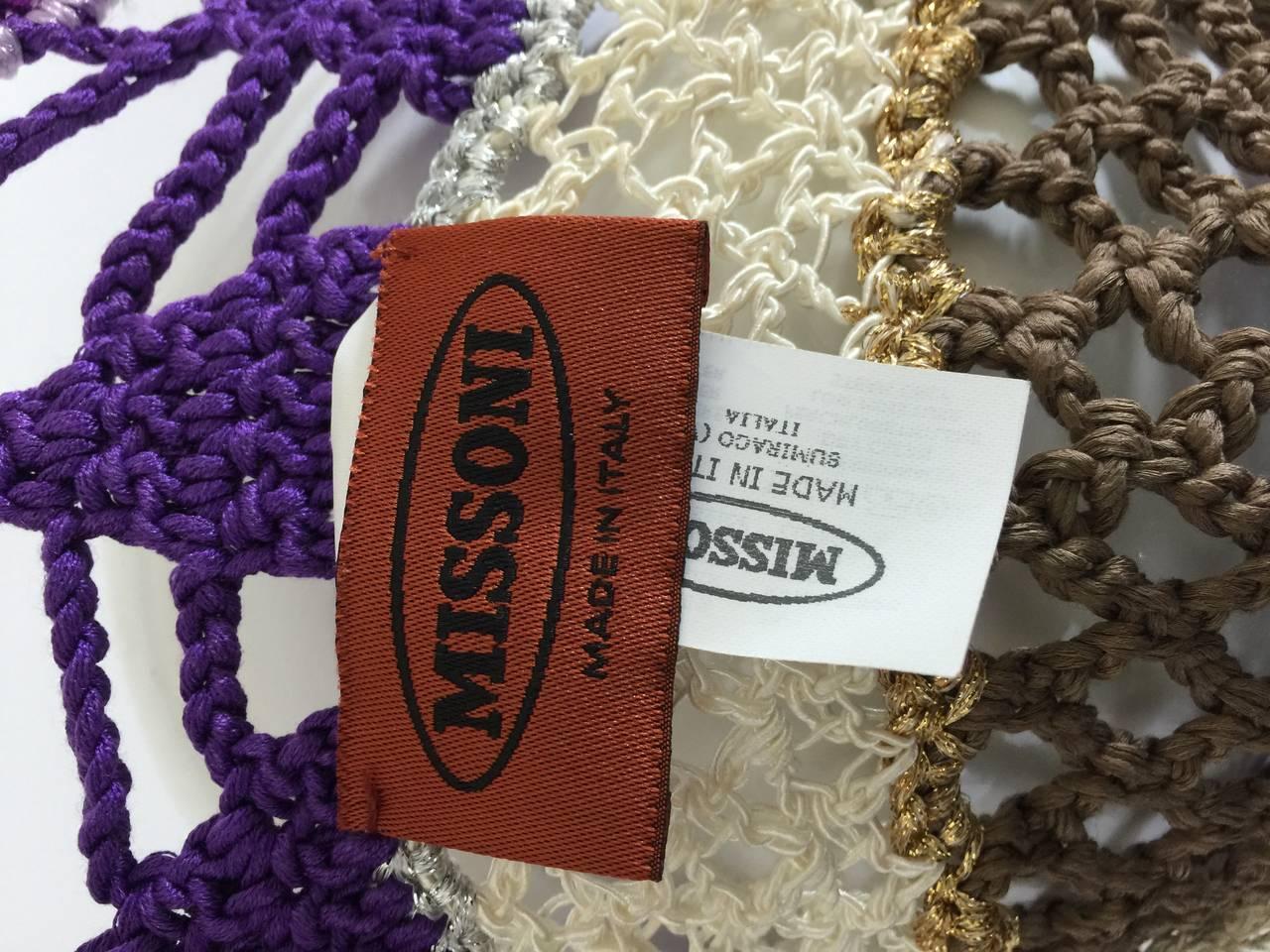 Gorgeous Missoni Crochet Hat 9