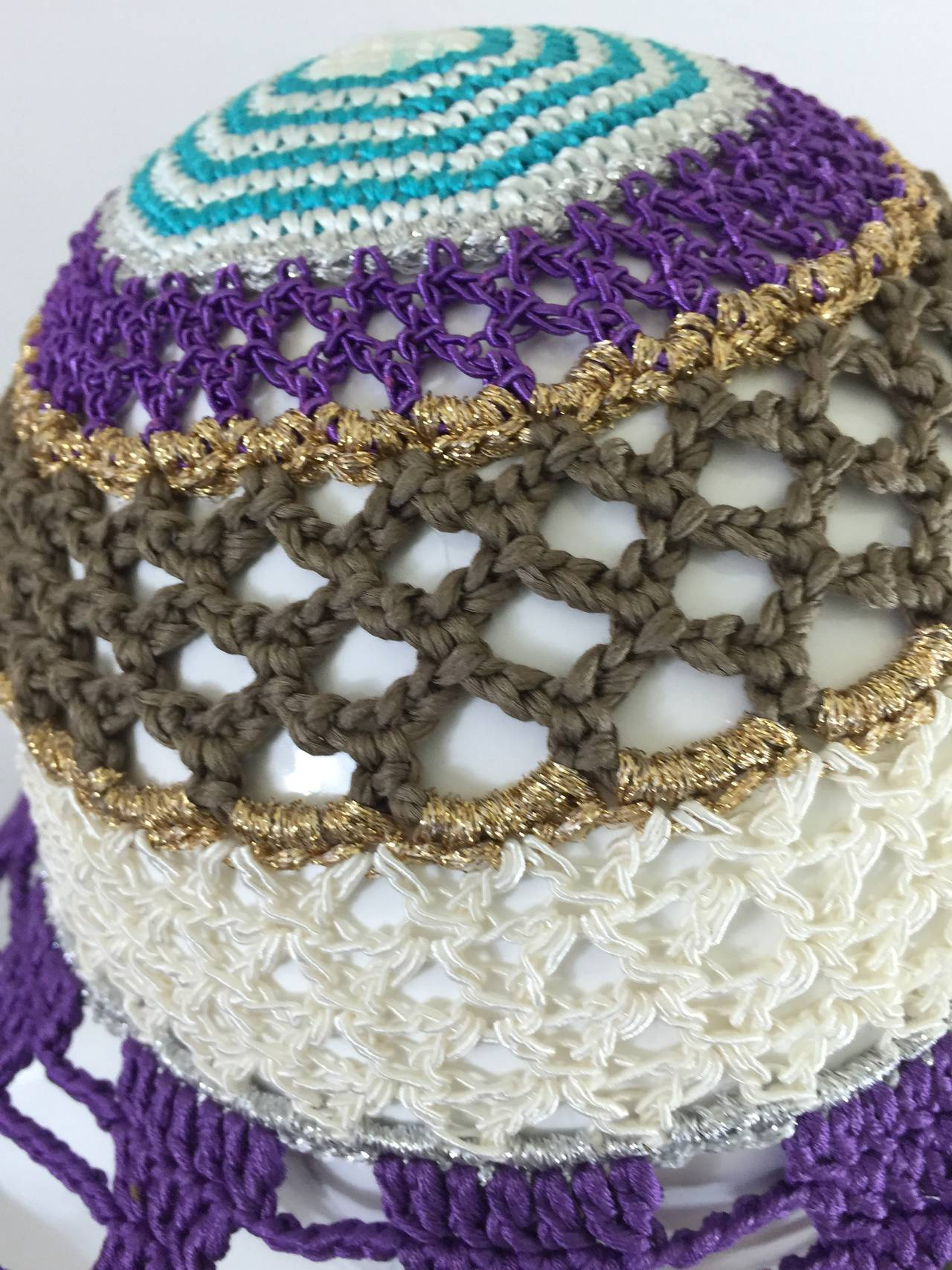 Gorgeous Missoni Crochet Hat 8