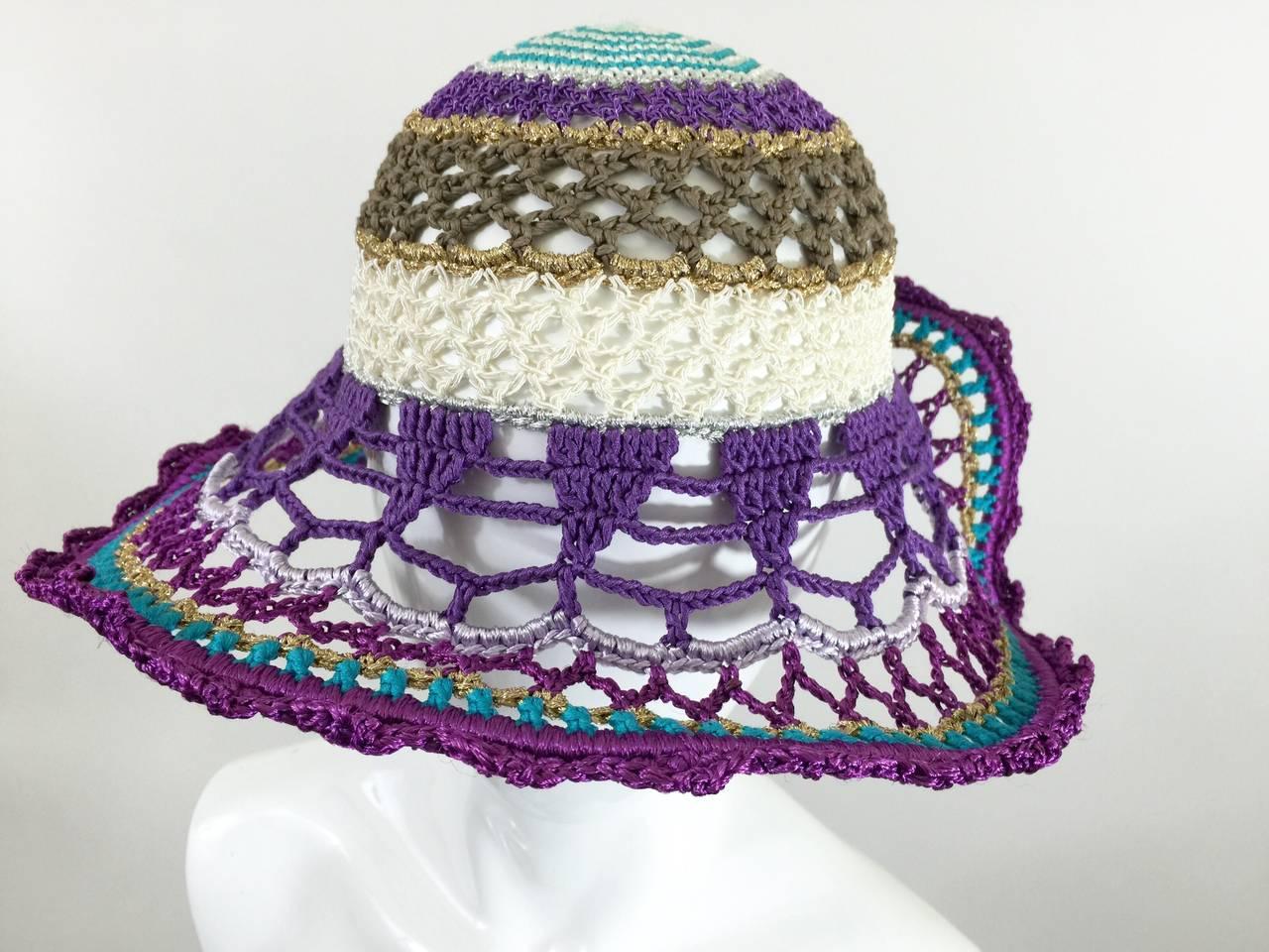Gorgeous Missoni Crochet Hat 5
