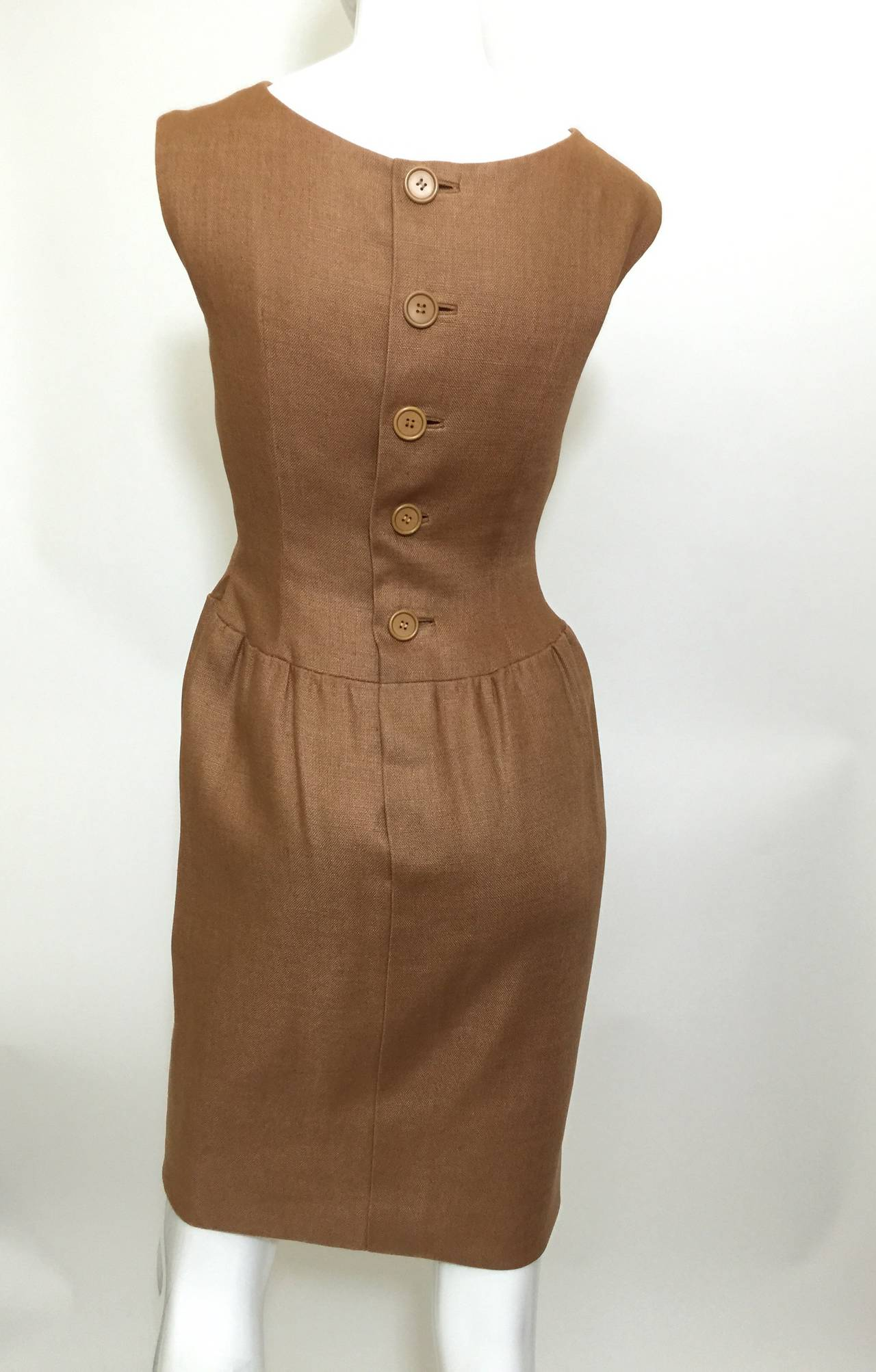 c.1961 Norman Norell Dress as seen on Jacqueline Kennedy  For Sale 2