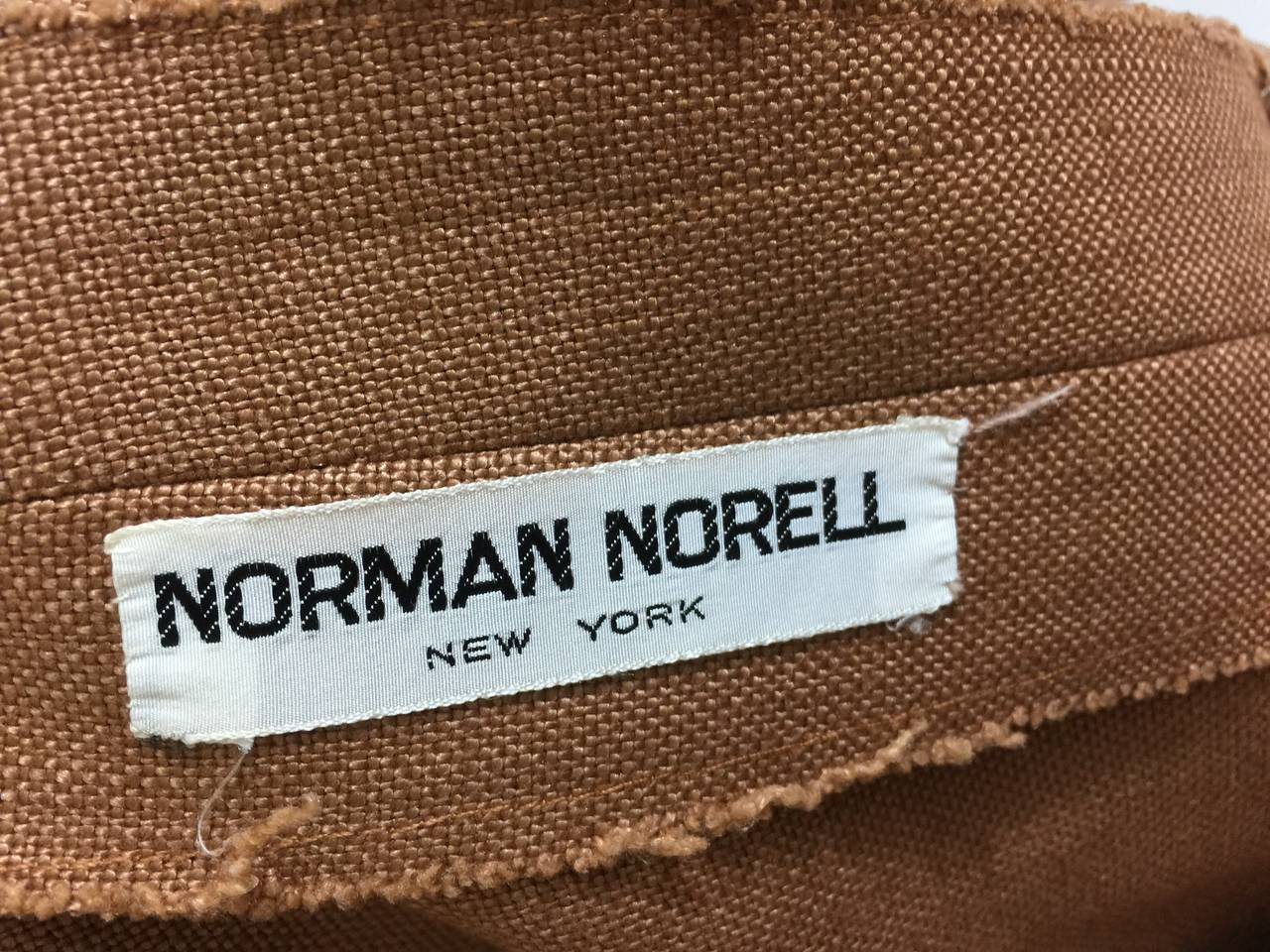 c.1961 Norman Norell Dress as seen on Jacqueline Kennedy  For Sale 4