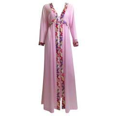 Vintage Pucci Formfit Rogers Caftan & Maxi dress 1960s