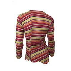 Comme des Garcons multi stripe Shirt 1990's