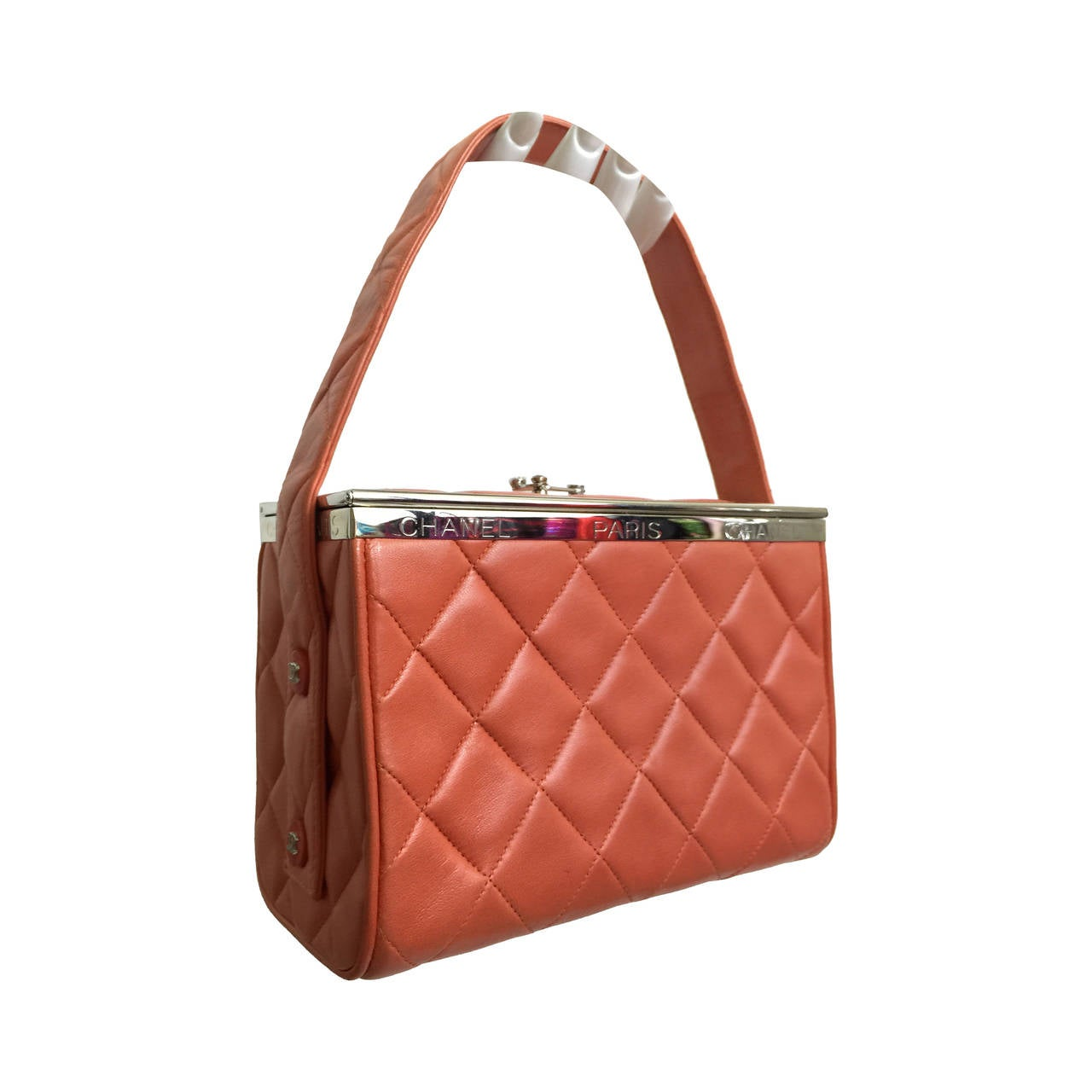 Chanel Vintage Quilted Box Bag