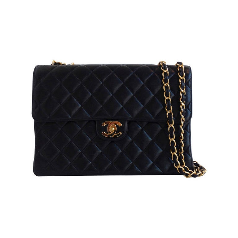 Chanel Black Classic Flap Bag 1
