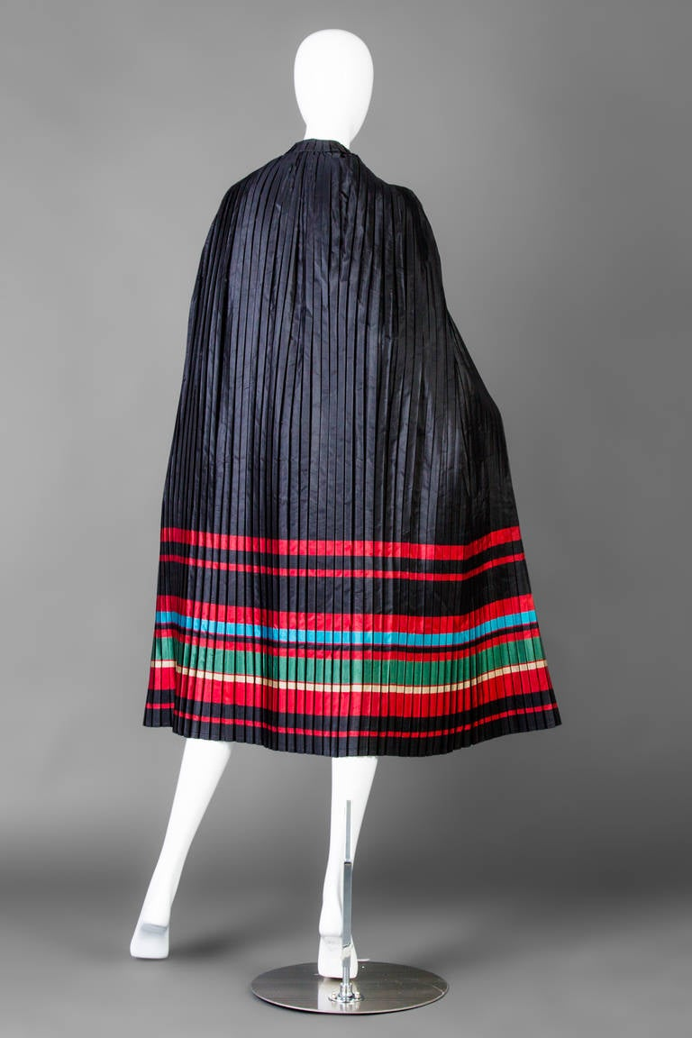 Christian Dior Vintage Cape And Dress At 1stdibs