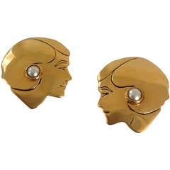 Vintage Chanel Mademoiselle Earrings