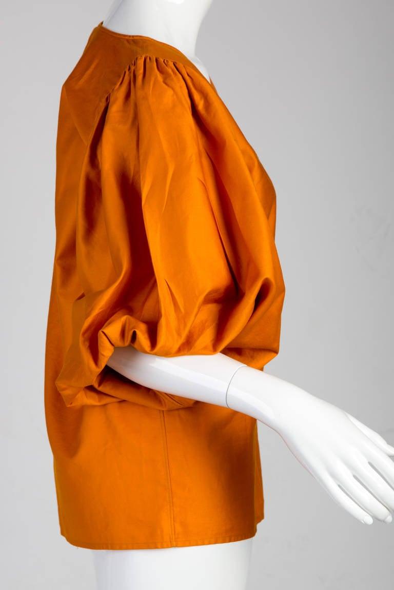 Saint Laurent Vintage Amazing Sleeve Blouse 4