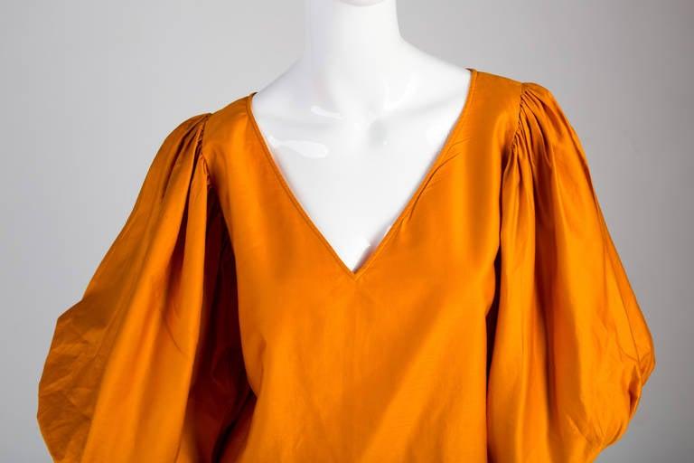 Saint Laurent Vintage Amazing Sleeve Blouse 3