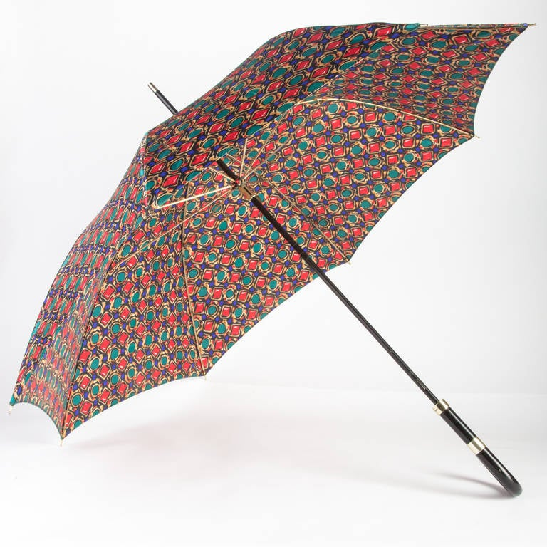 Yves Saint Laurent Jewel Print Umbrella Ysl At 1stdibs