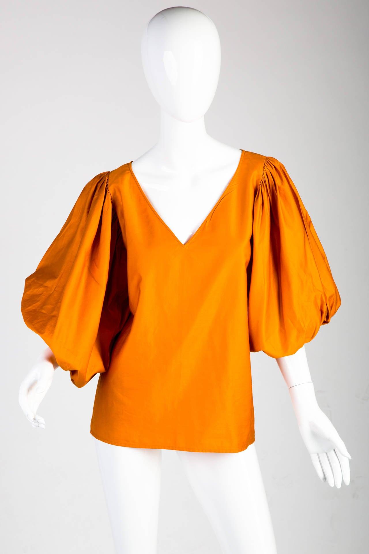 Saint Laurent Vintage Amazing Sleeve Blouse 2