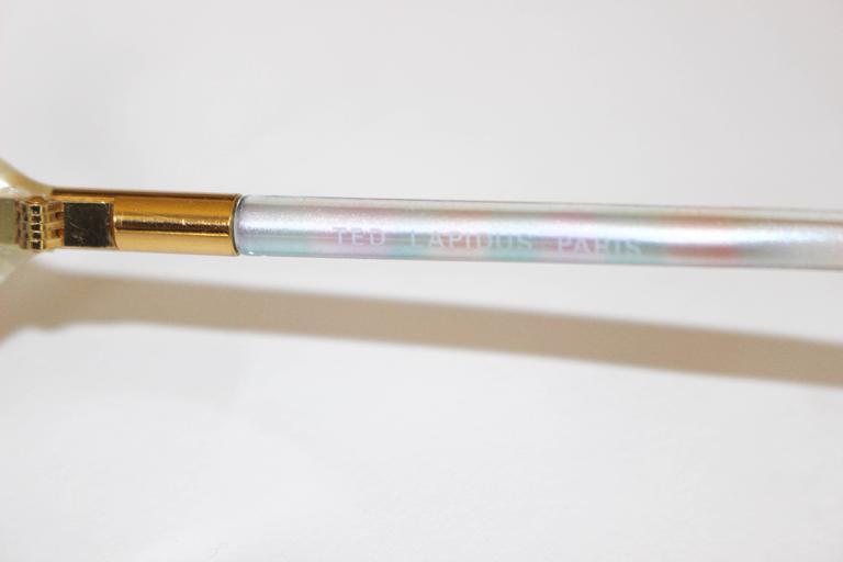 1970s Ted Lapidus Rainbow Frame Sunglasses & Shades For Sale 3