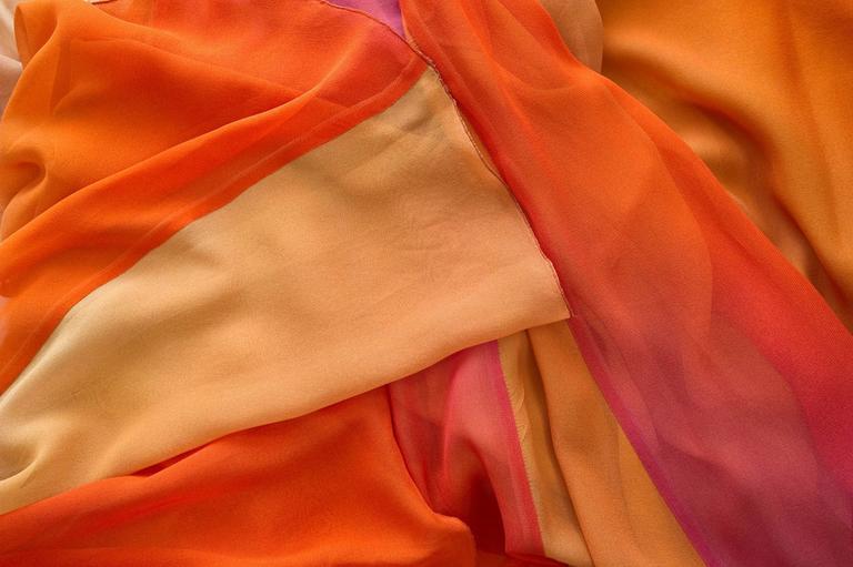 Sonia Rykiel Spring 2012 Runway Silk Chiffon Gown  1