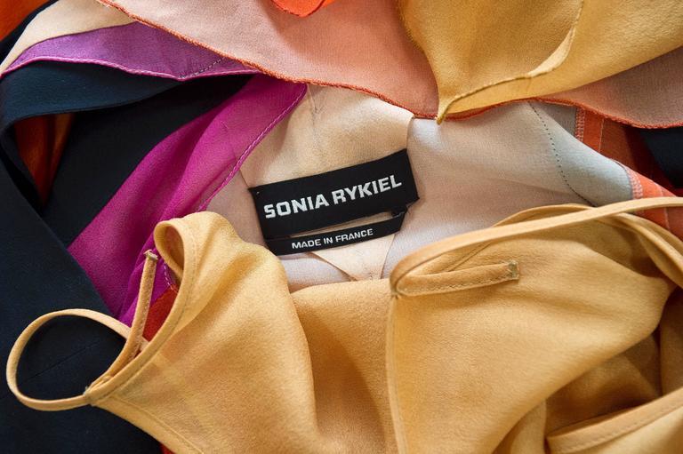 Sonia Rykiel Spring 2012 Runway Silk Chiffon Gown  2
