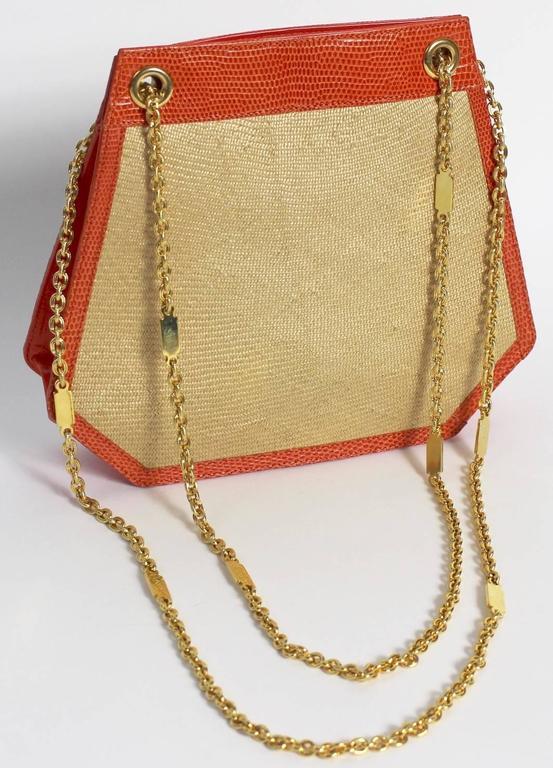Bottega Veneta Limited Edition Vintage Gold Chain Purse  For Sale 1