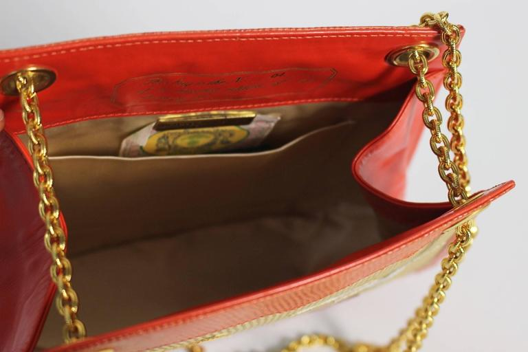 Bottega Veneta Limited Edition Vintage Gold Chain Purse  For Sale 5