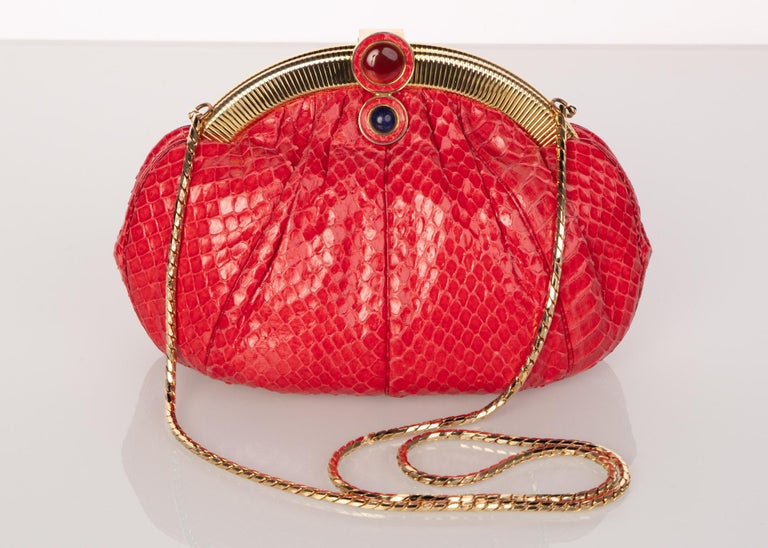 Born in the tumultuous time of the World War decades, Hungarian born Judith Leiber achieved astonishing accomplishments for her work in handbag and leather good design. Being the first woman inducted into the Hungarian Handbag Guild, Leiber's craft