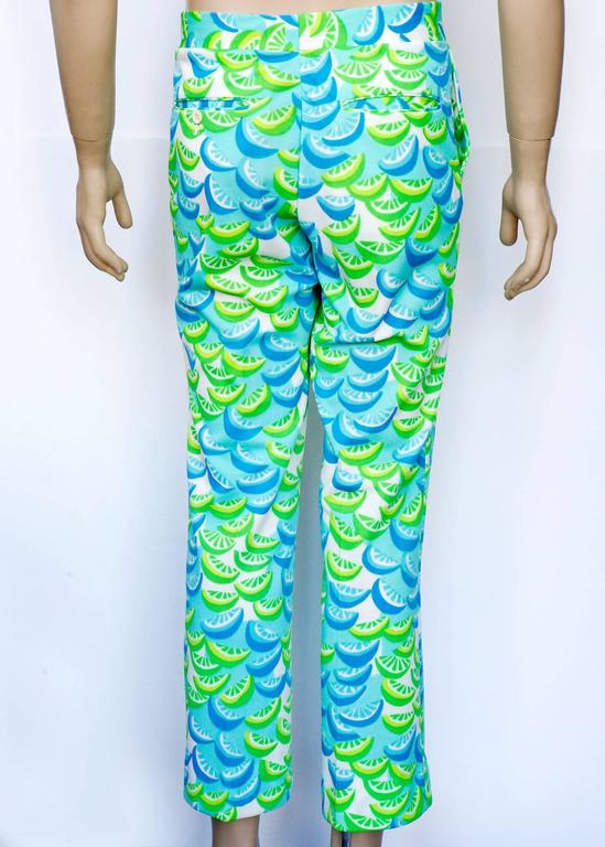 Lilly Pulitzer Citrus Pattern Golf Pants For Sale At 1stdibs