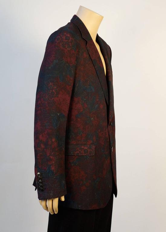 Gucci Floral Sports Coat by Designer Tom Ford 3