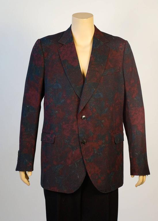 Gucci Floral Sports Coat by Designer Tom Ford 2