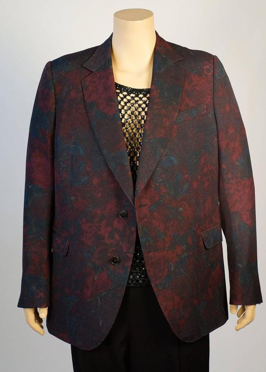 Gucci Floral Sports Coat by Designer Tom Ford 4