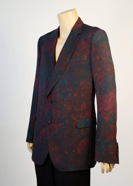 Gucci Floral Sports Coat by Designer Tom Ford 5