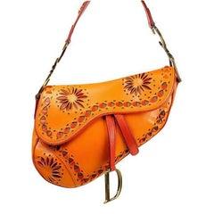 Christian Dior Limited Edition Saddle Shoulder Bag