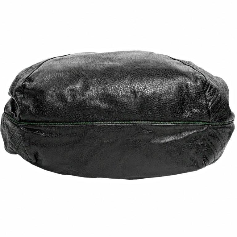 Fendi Black Nappa Leather Spy Bag For Sale 2