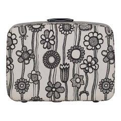 Samsonite Floral Suitcase, circa 1960