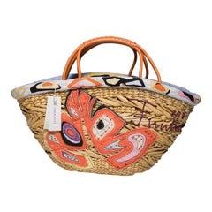 Emilio Pucci Straw Tote Bag