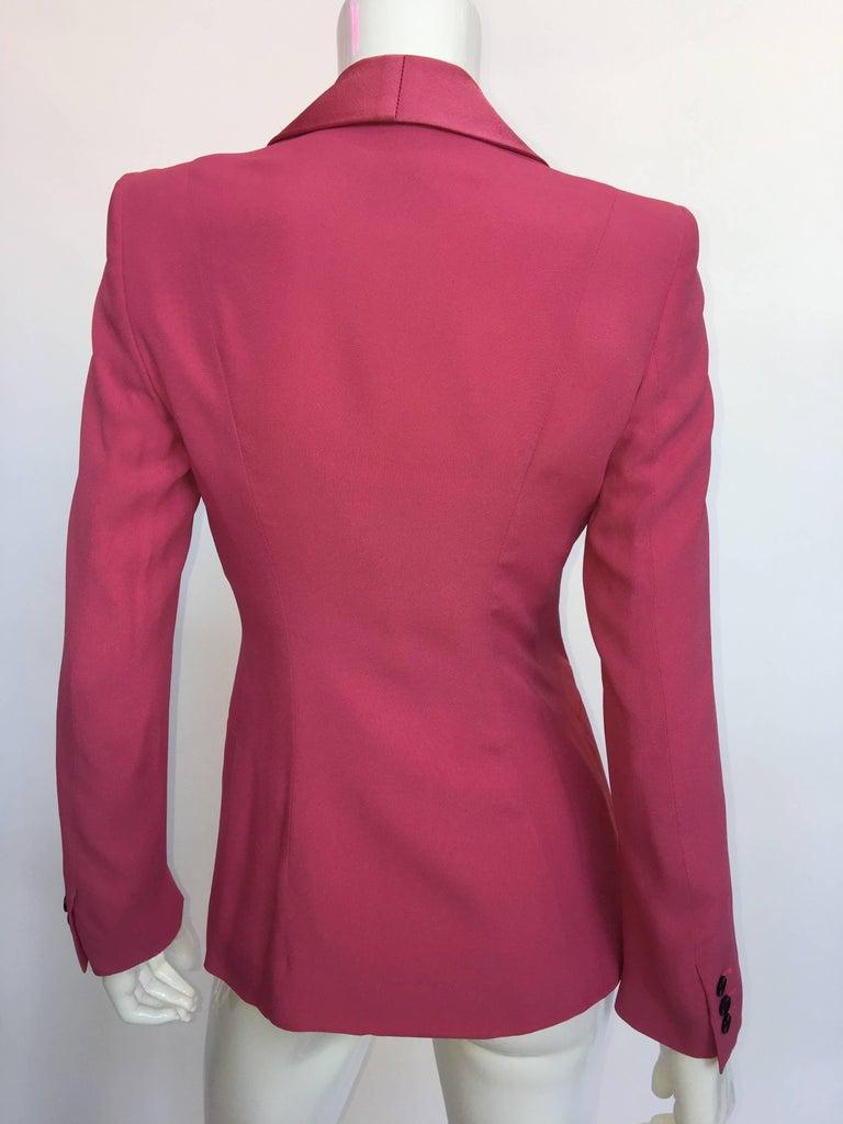 Bella Frued Pink Tux Style Jacket 2