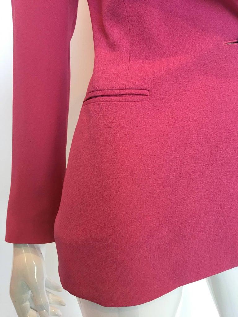 Bella Frued Pink Tux Style Jacket 5