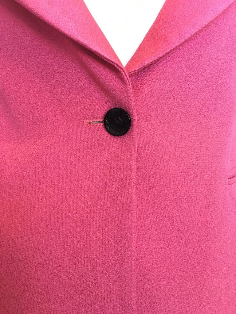 Bella Frued Pink Tux Style Jacket 6