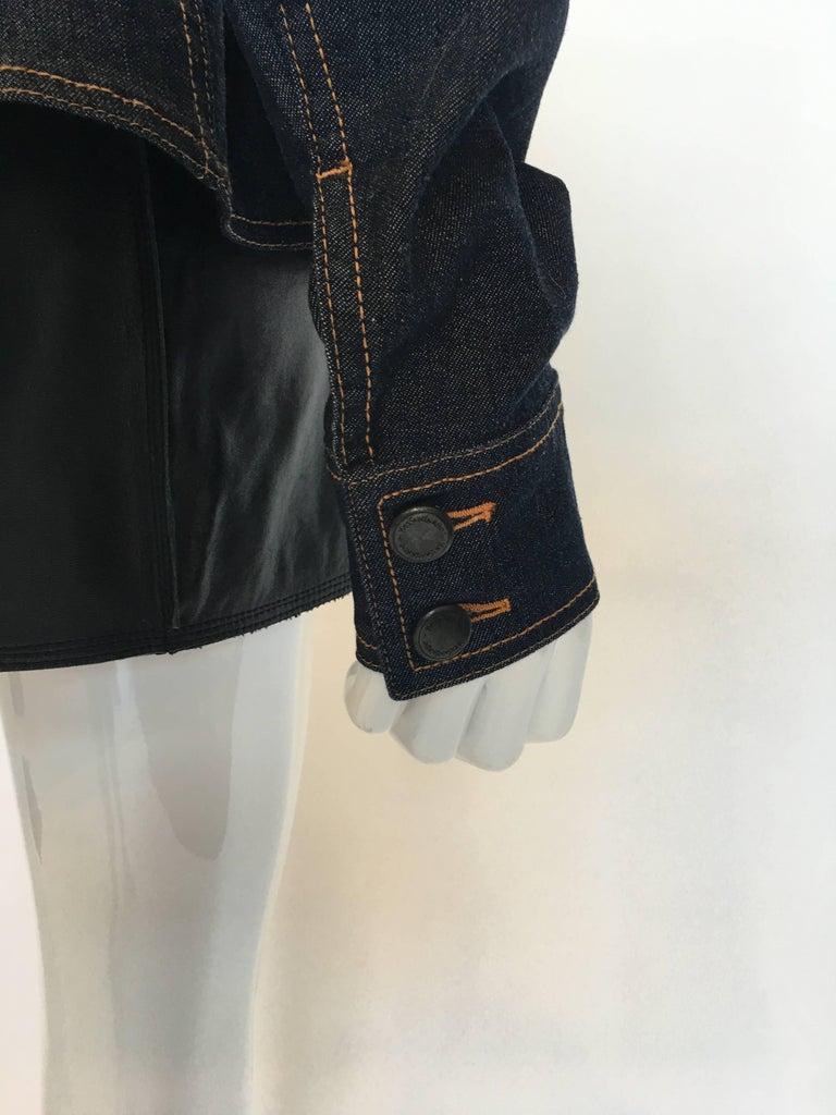Yves Saint Laurent Denim Jacket, 1990s   For Sale 2